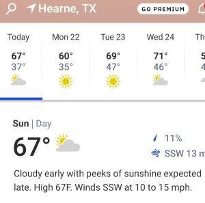 Hearne, Texas 2/21/2021