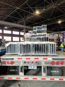 Aluminum Beams Sapa Extrusions, Cressona, PA