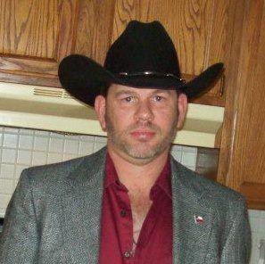 Cowboy dressed up