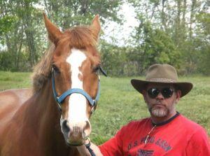 Cowboy and his buddy, Honcho