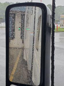 Bump in the rain