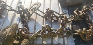 Pic of the chains before trashing them