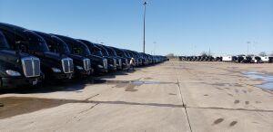 All Owner leased trucks