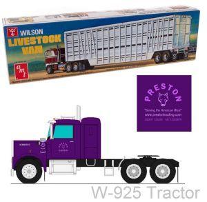 Wilson trailer model kit